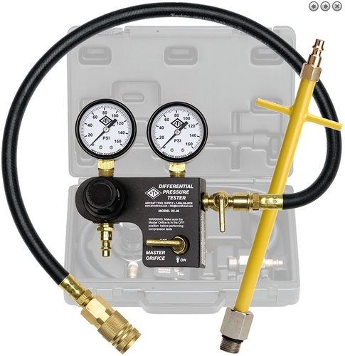 [해외] 항공기 정비용 압력측정기   ATS-2EM-KIT ATS PRO DIFFERENTIAL PRESSURE TESTER KIT